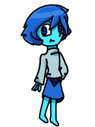Lapis in a sweater  by Stephers101