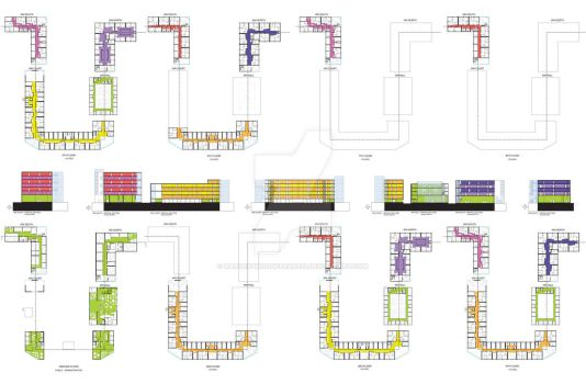 Arch Studio S19 - FINAL: Plans and Sections
