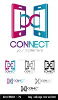 Connect Logo-Template by doghead
