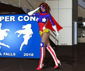 Giselle: Hyper Con 2018 by hotrod5