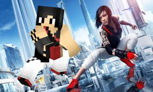 Faith - Mirror's Edge Catalyst | Minecraft Skin by MarioMinecraftMix