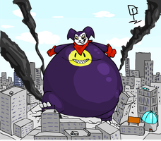 Impzilla's Rampage by RickyDemont