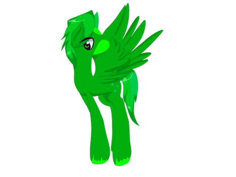 Lyn Clover With Cutie Mark by LynClover