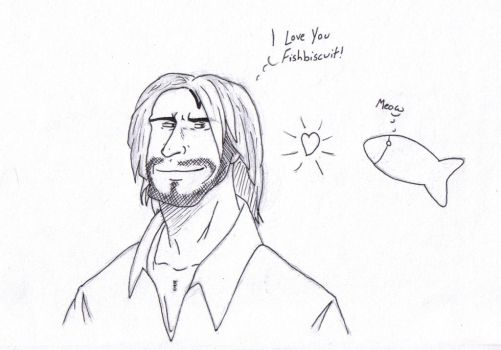 Sawyer + FishBiscuit by Gee881