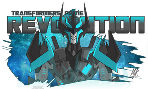 REVOLUTION - An OC of ProphetofPrimes by MessyArtwok
