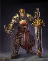 King ArTyr Concept by PTimm