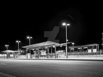 Bus station by Lyacon