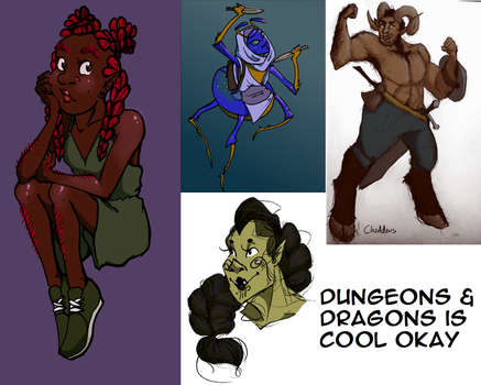Dungeons and Dragons and Dump by Orangelargh