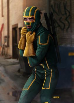 KICK-ASS - by DanLuVisiArt