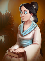 The Second Daughter of the King by ArtByRiana