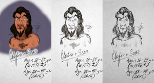 Clopin + Scar (2 in 1 - the little crossover) by Flive-aka-Nailan
