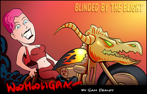 Blinded by the Blight by woohooligan