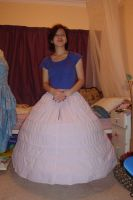 the EPIC hoopskirt. by tanmei