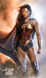 Wonder Woman Victorious by Jeffach