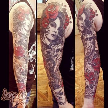 Tattoo by Olive Bps tattoo 2014 by BPS-TATTOO