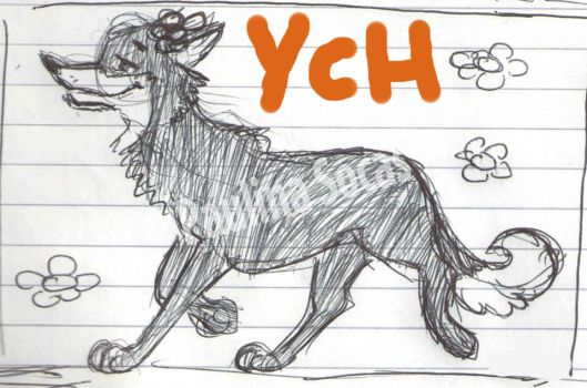 flora canine female YCH open by lupalapa
