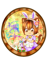 Hatake's Happy Easter by Hatty-hime