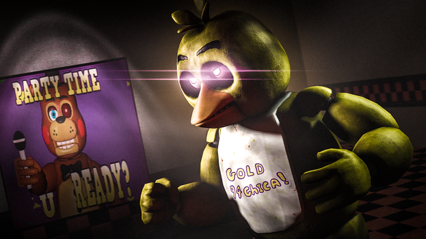 So, you wanna fight after all?  Bring it on (SFM) by gold94chica