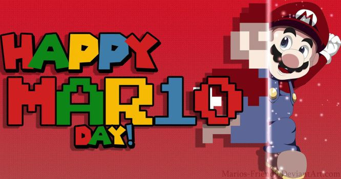 2018: Happy MAR10 Day! by Marios-Friend9