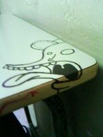 Graffiti in Table by Garcho