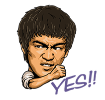 Bruce-Lee-Stickers-765144 by kjlgy