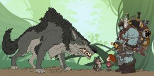 Battleborned The Kingwolf Encounter by BongzBerry