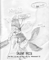 Silent Pizza by Wrathofautumn