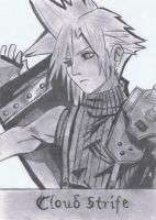 Cloud  Strife by YunaAnnie