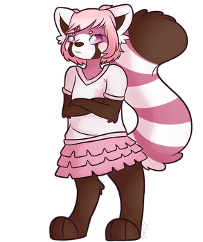 Natsuki is a Red Panda now by Turbodragon451