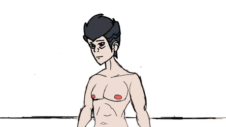 Random Nude Male Unfinished by Septimus-Prime