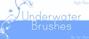 Underwater Brushes - High Res by Yun-Zhen