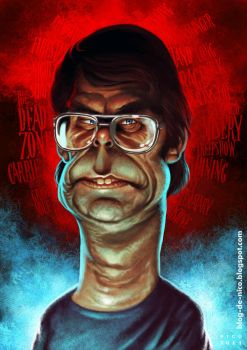 Stephen King by ElectroNic0