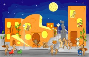 Mice City by Katze-North