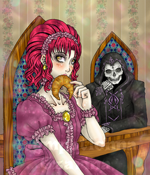 Dining with Death by Michelangeline