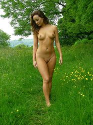 Carla on a country walk by stevepl
