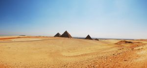 The Pyramids Of Giza by 2-0-1-9
