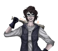 31days of creepypasta - day 1 Chris by OtterLucy