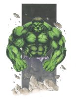 Hulk 2014 Commission by DKHindelang