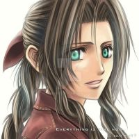 Aerith: Everything is fine now by raykit