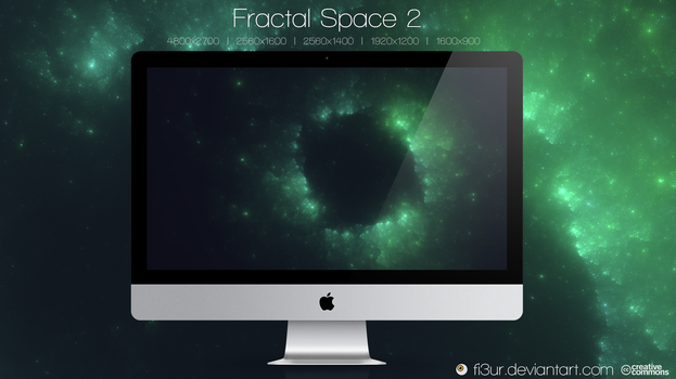 Fractal Space 2 by Fi3uR