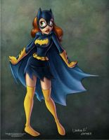 Batgirl Colored by ArtofLaurieB