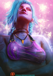 Jinx rule the game ( nsfw and process on patreon) by AnatoFinnstark