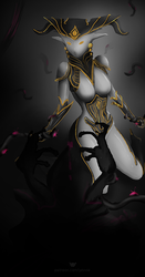 Mirage a trois II [Warframe][Censored] by yevvie