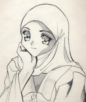 Muslim gal by Lady-Respect