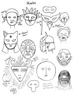 Draw Masks by Diana-Huang