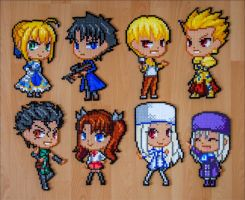 FATE character sprites by Aenea-Jones