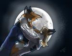 Commission - Date Night 12 by Fox-Fireborn
