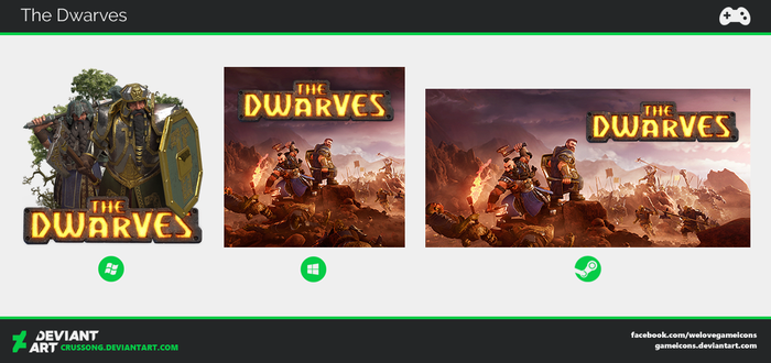 The Dwarves - Icon by Crussong