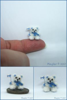 Rasmus, Miniature Bear by Maylar