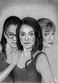 Sestras (Orphan Black Drawing) by julesrizz